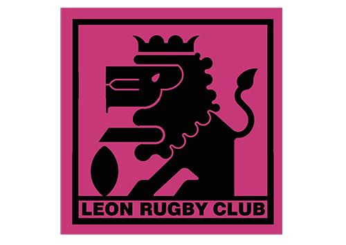 Primer escudo León Rugby Club